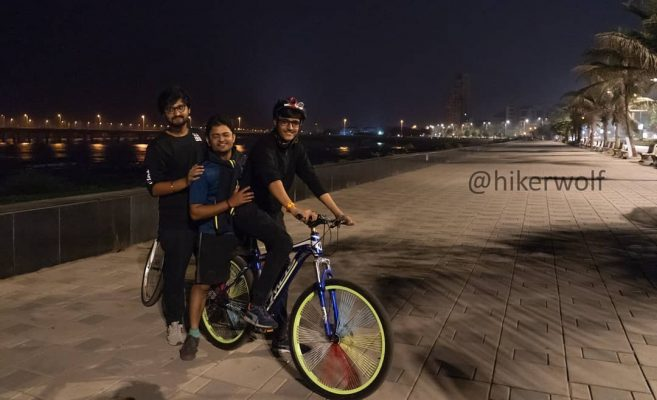 Midnight cycling