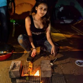 Barbeque camping near Nasik