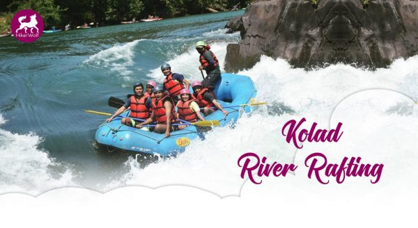 A thrilling adventure, River Rafting at Kolad